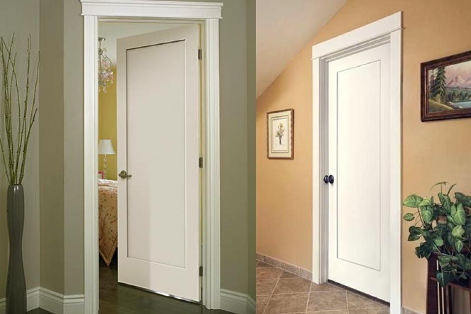 Interior Doors & Custom door styles Moulding  French doors Hardware finish ...